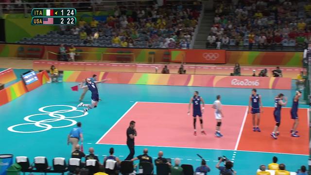 Zaytsev, i tre mitici ace contro gli USA a Rio 2016: rimonta pazzesca verso la finale!