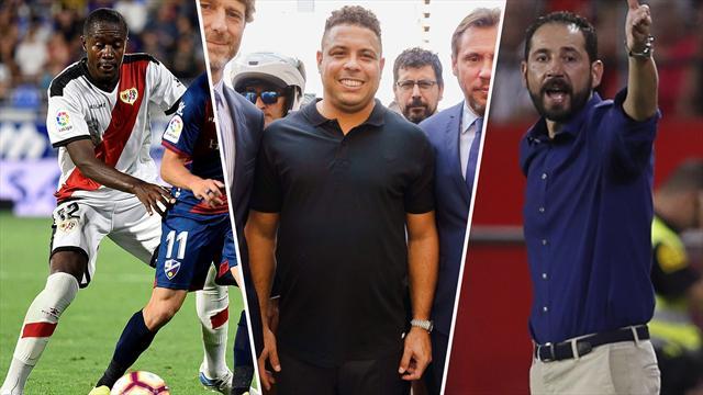 Los apuntes de la jornada 4: Del golazo de Imbula al estreno en el palco de Ronaldo