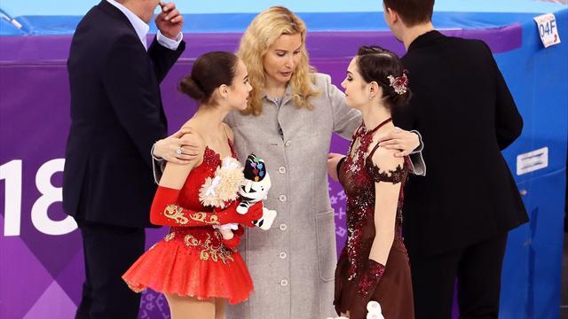 Тутберидзе: «Медведева так хорошо откатала Олимпиаду, потому что Загитова ее тащила»