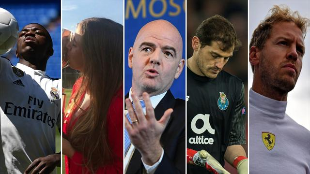 Vinicius, Celia Barquín, Infantino, Casillas y Vettel, los nombres del día