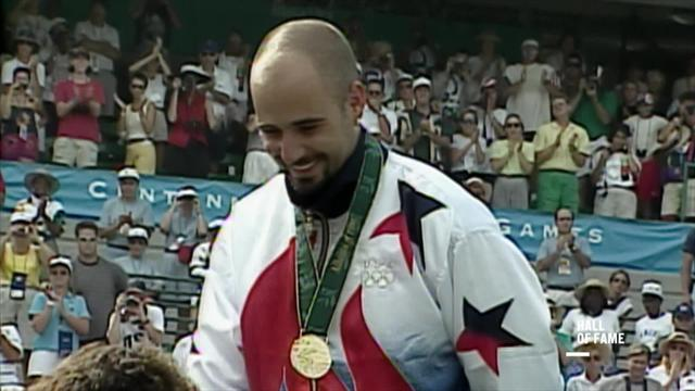 Hall of Fame: Andre Agassi holt Gold bei den Heimspielen in Atlanta 1996