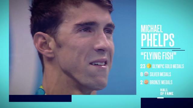 Hall of Fame de los grandes deportistas olímpicos: Michael Phelps, el tiburón de oro