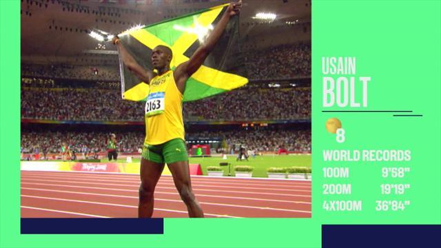 Hall of Fame Greatest de los deportistas olímpicos: Todo lo que hay detrás de Usain Bolt