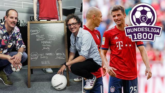 Bundesliga 1800 #17: Luxus-Kader adé! Auf diese Bayern-Stars kommt's jetzt an