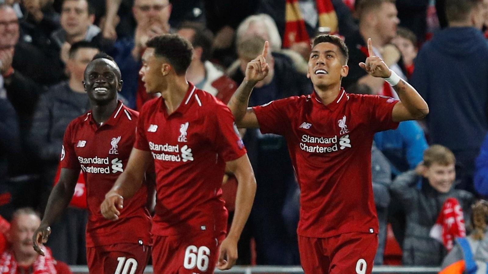 1b08d152 Football news - Roberto Firmino hits last-gasp winner as Liverpool sink  Paris Saint-Germain