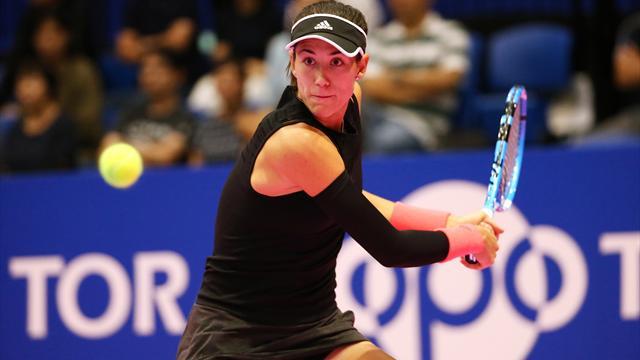 👏💪 Garbiñe Muguruza alcanza sus primeras semifinales desde Roland Garros (6-2 y 7-5)