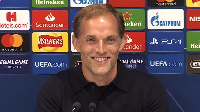 Tuchel alerts reporter that mother is calling during press conference