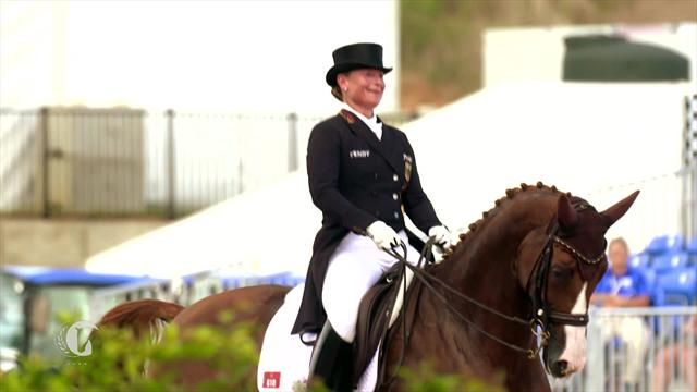 Horse Excellence: Gold for Germany in dressage at FEI World Equestrian Games