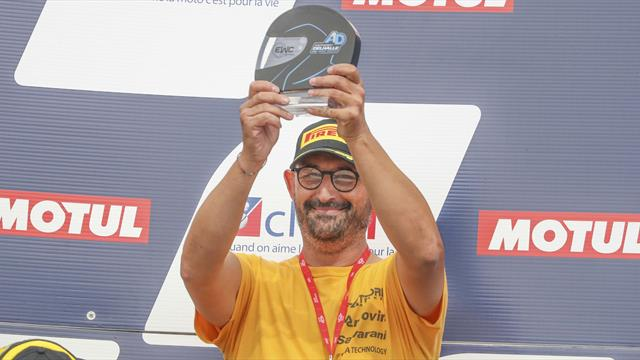 No Limits awarded Anthony Delhalle EWC Spirit Trophy at the Bol d'Or