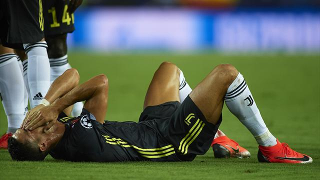 Cristiano Ronaldo espulso a Valencia, quante giornate di squalifica rischia?