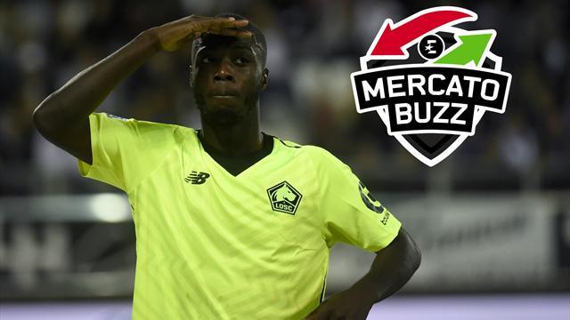 Mercato Buzz : Nicolas Pépé sous les projecteurs de gros clubs européens