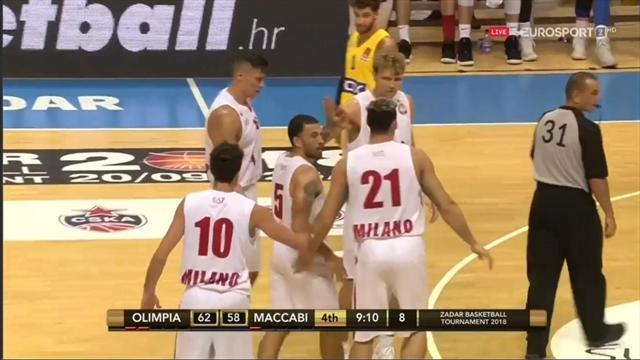 Mike James è già il leader di Milano: 20 punti contro il Maccabi!