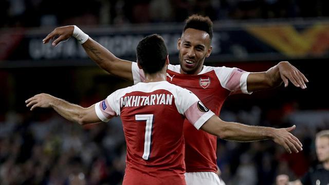 Arsenal et Séville s'amusent, Chelsea et Milan à l'économie