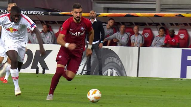 Höjdpunkter: Dramatik och vackra mål när Salzburg vann första Red Bull-derbyt