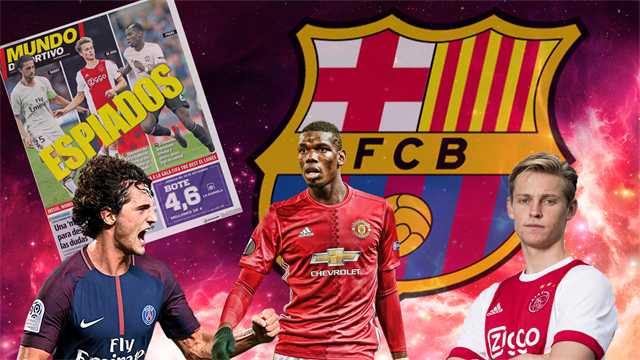 Euro Papers: Barca scout midfield transfer targets