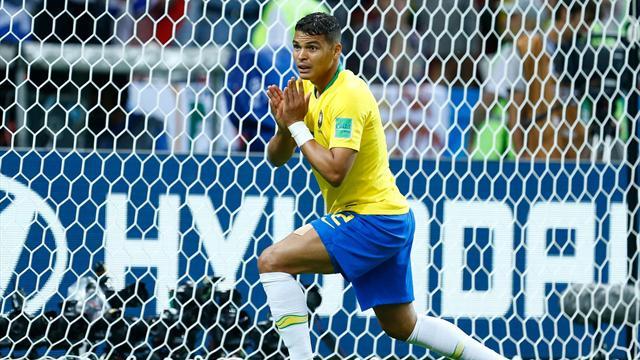 Le Brésil se passe de Thiago Silva