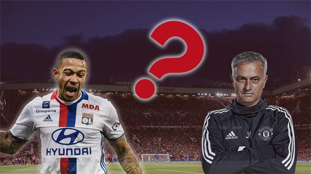 Transfer Focus: Jose Mourinho Opens Door for Memphis Depay...Or Does He?