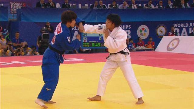 Mundiales de Judo: La joven nipona Ute Abe conquista su primer título mundial