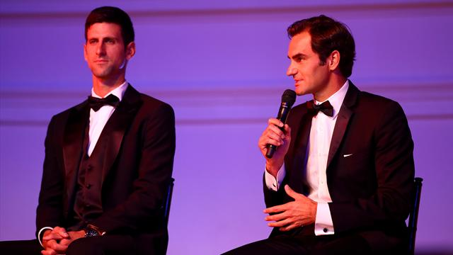 Doubles trouble for Federer, Djokovic