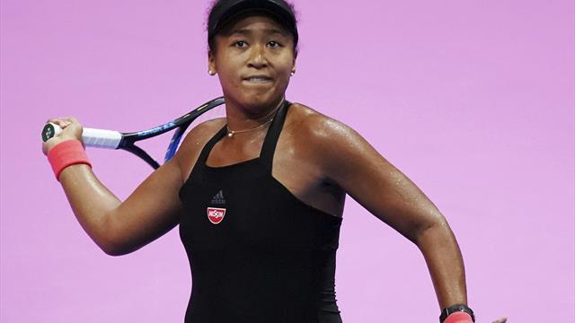 Osaka beats Strycova to reach semifinals at Pan Pacific Open