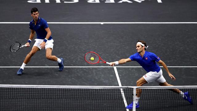 Federer et Djokovic ne font pas encore la paire
