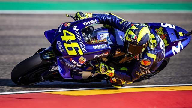 Rossi, Viñales et Zarco en repêchages
