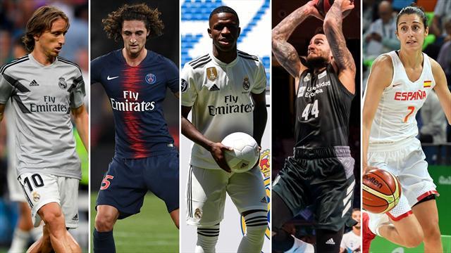 Modric, Rabiot, Vinicius, la Supercopa y el Mundial de basket femenino, los nombres del día