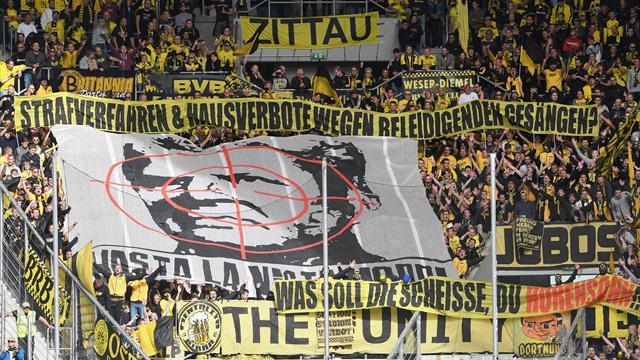 BVB-Fans eskalieren gegen Hopp - Zorc entschuldigt sich