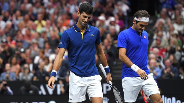 Djokovic avec Zverev, Federer avec Thiem : le Masters est déjà lancé