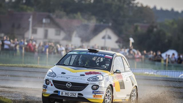 ERC Junior U27: Lead pair fights for maiden victory
