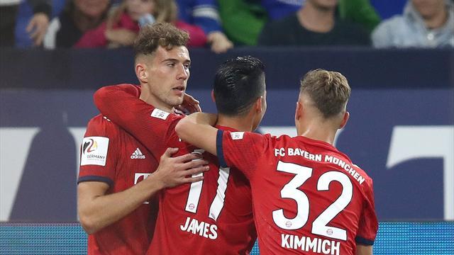 Il Bayern è già padrone della Bundesliga: 2-0 a un derelitto Schalke con James e Lewandowski