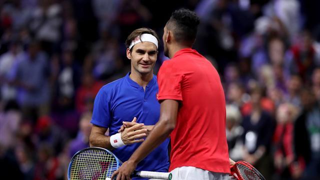 Federer croque Kyrgios, le Team Europe survole les débats