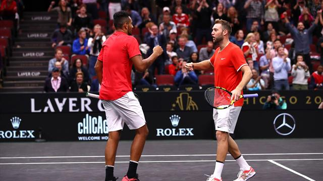 Tsitsipas and Kyrgios to play in Laver Cup