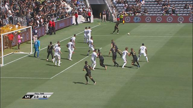 MLS: Los Angeles FC-San Jose Earthquakes 2-0, gli highlights