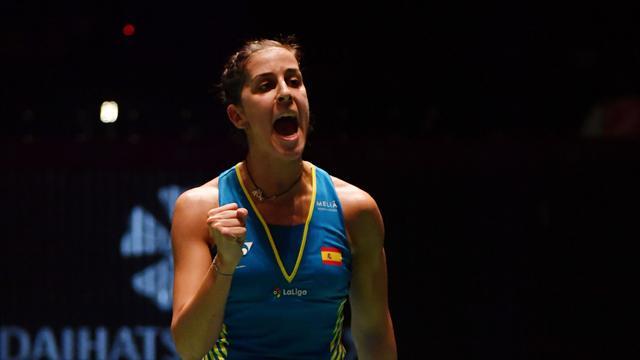 Carolina Marín semifinalista por la vía rápida en el Abierto de China