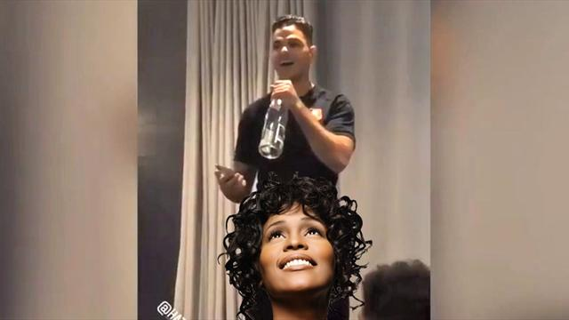 Avant les défenses de Ligue 1, Ben Arfa a massacré Whitney Houston : son bizutage en vidéo