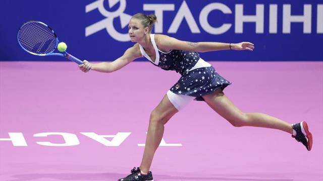 Osaka, Pliskova, Vekic y Giorgi, a las semifinales en Tokio