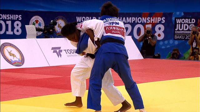 Clarisse Agbegnenou wins third world title