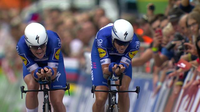 'This is spectacular' – Quick-Step Floors post lightning time