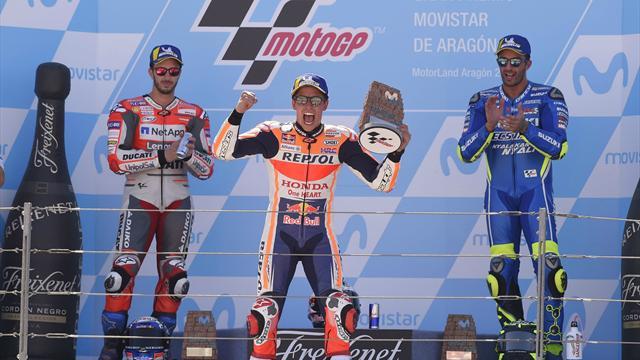 On refait le Grand Prix : Ça passe pour Marquez, ça casse pour Lorenzo