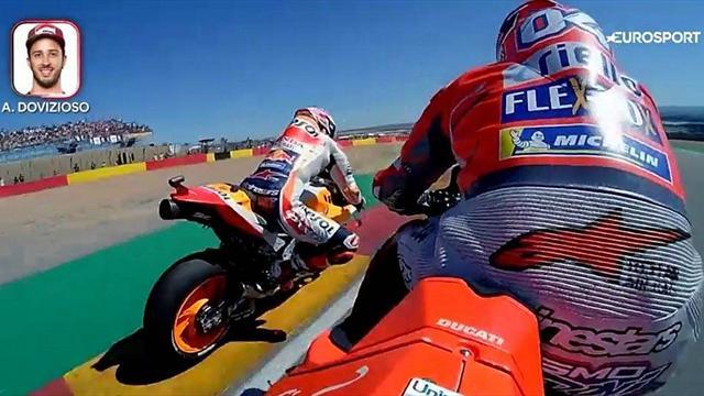 Onboard : Rossi, Marquez, Dovizioso, Iannone... Retour sur une orgie de dépassements