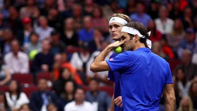 Zverev : «Roger est plus âgé, il applique ses propres règles»