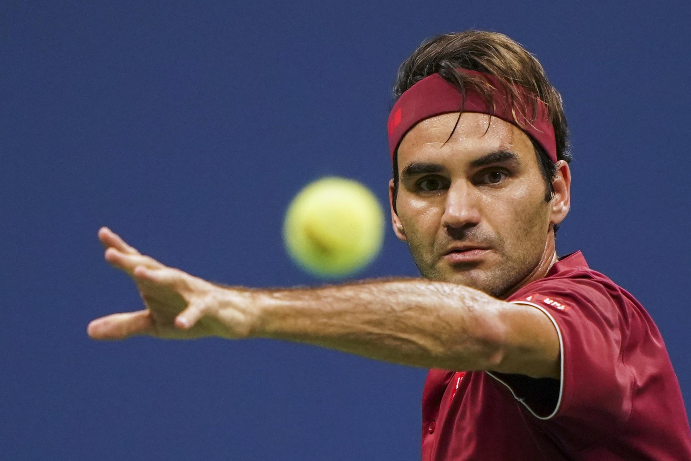 Europa-Duo Zverev/Federer (Bild) verliert gegen US-Team