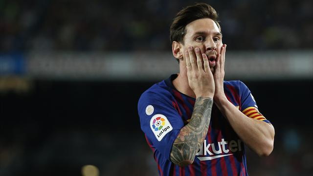 Barça-Gérone : le mauvais geste de Lionel Messi envers l'arbitre