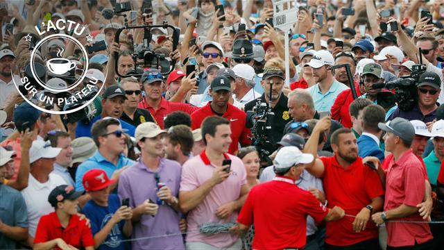 Woods, Laver Cup, The Best : L'actu sur un plateau