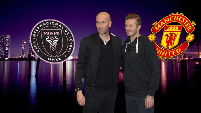 Transfer Focus: Beckham's Miami v United for Zidane