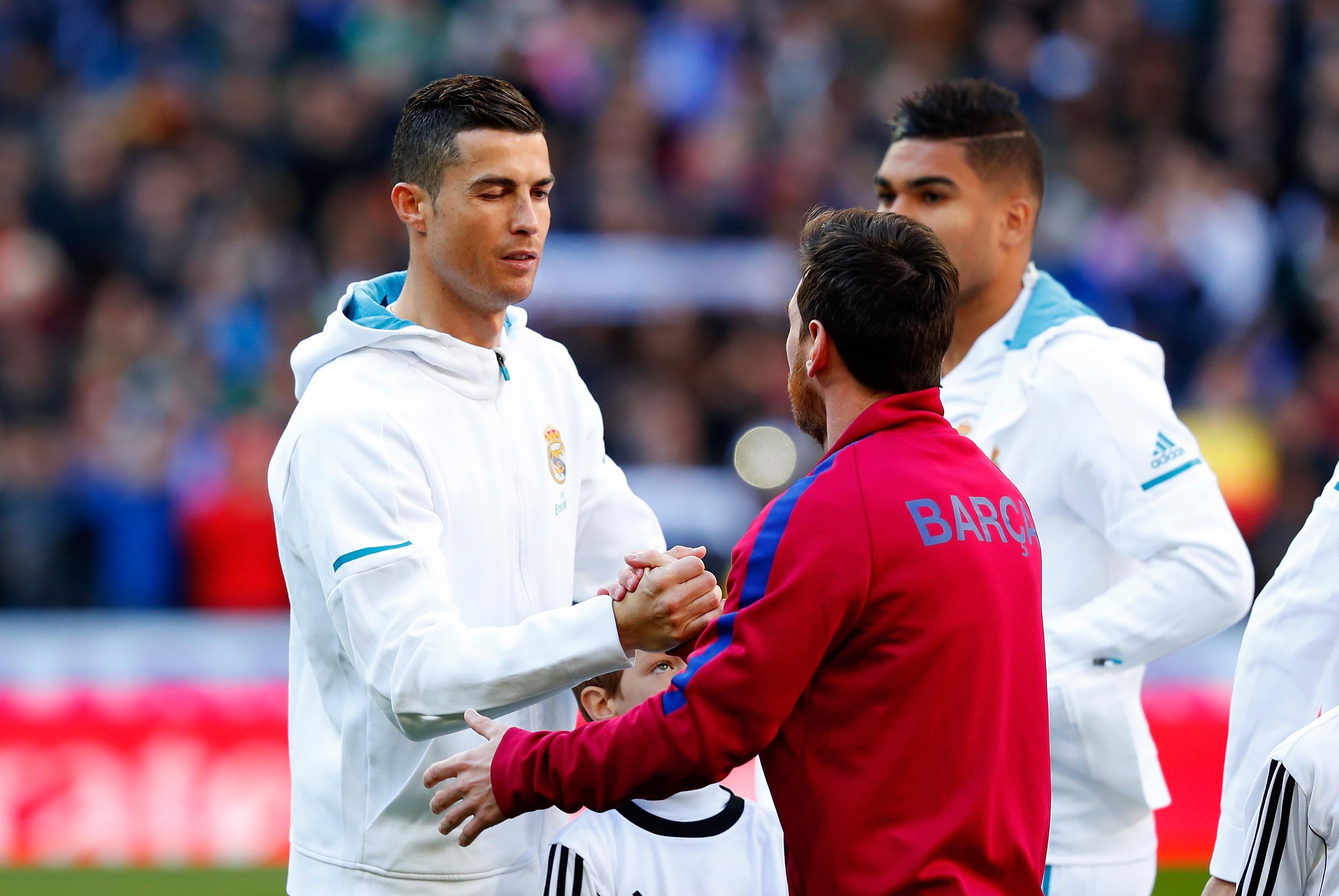 Cristiano Ronaldo ve Leo Messi