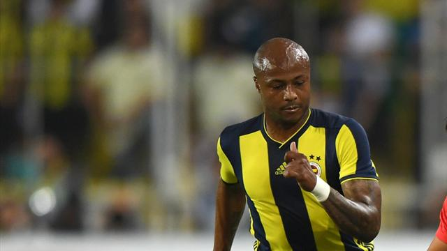 Ayew equalises after Babel opener as Fenerbahce and Besiktas play out draw