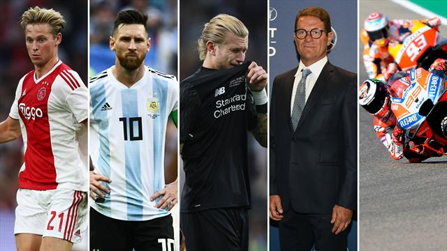 De Jong, Leo Messi, Karius, Capello y la paz entre Márquez y Lorenzo, los nombres del día
