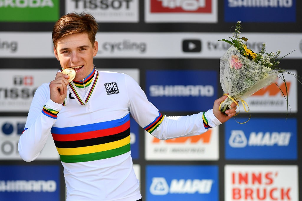 Evenepoel world champion innsbruck